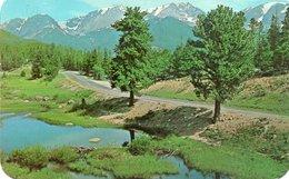 BEAR LAKE IN AUTUMN-ROCKY MOUNTAIN NATIONAL PARK-COLORADO - Rocky Mountains