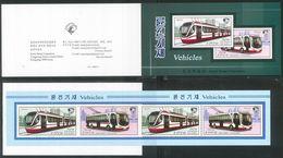 NORTH KOREA 2020 VEHICLES STAMP BOOKLET - Tranvías