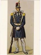SOLDAT  INFANTERIE De MARINE 1845   (signée De ROUSSELOT  1830 ) N° 10 - Militaria