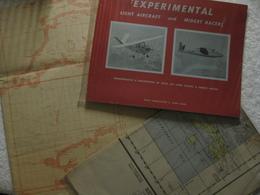 Aviation Aéronefs Et Avions – Lot Vintage - EO 1941 1949 1958 – Rare Et Collector - Guerre 1939-45