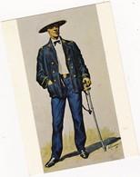 SOUS-LIEUTENANT INFANTERIE De MARINE  :   TONKIN 1873 :  (signée De ROUSSELOT  1830 ): N  ° 12 - Militaria