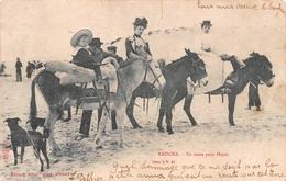 Knocke - En Route Pour Heyst En 1904 - Knokke