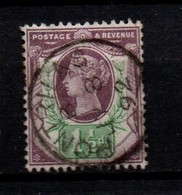GB Victoria  Jubilee 1 1/2 D Pale Dull Purple And Green Fine Used With Neat Cancels.   Some Short Perfs   Pontrilas Cds - Used Stamps