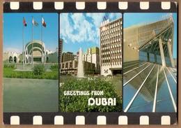 GREETINGS FROM DUBAI , DUBAI * VINTAGE POSTCARD - Dubai