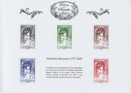 France Trésors De La Philatélie 2014 Madame Recamier BS7 Neuf ** MNH - Nuovi