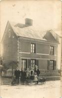 REIMS CARTE PHOTO 1938 RUE DE L'YSER - Reims