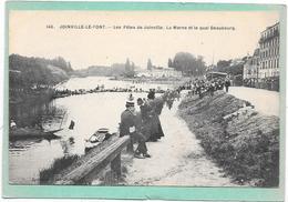 94 JOINVILLE LE PONT - Fêtes De JOINVILLE - La Marne Et Le Quai Beaubourg - Animée - Joinville Le Pont