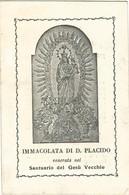 Lotto N. 4 Santini Immacolata Di D. Placido Santuario Gesù Vecchio Napoli Con Novena (820-821, 823-824) - Images Religieuses
