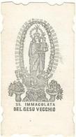 Lotto N. 2 Santini Fustellati Immacolata Di D. Placido Santuario Gesù Vecchio Napoli Con Memorale E Novena (822-825) - Andachtsbilder