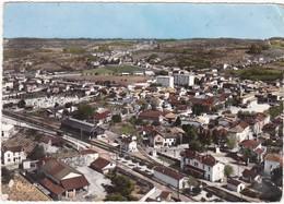 38 : LE PEAGE-de-ROUSSILLON : Vue Aérienne - Quartier De La Gare : ( C.p.s.m. - Photo Vérit. - Grand Format ) - Autres Communes