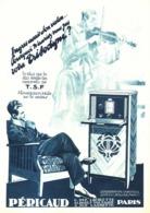 """PUB RADIO  """" PERICAUD  """"   1930 ( 1 ) - Radio & TSF"""