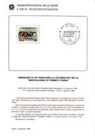 Bollettini Emissione Francobolli Celebrativi Del 1986 - 21 Bollettini Annata Completa - 1946-.. République