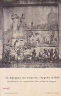Loiret        640        Episode Du Siège De Jargeau.Bas Relief ........ - Jargeau