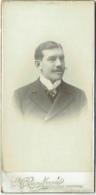 Grande Photo. CDV. Foto Ruys-Morel. Courtrai-Tournai. - Anciennes (Av. 1900)