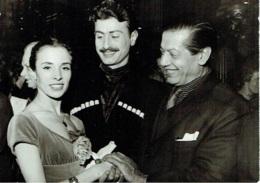 Photo. Ballet. Opéra. Danse.  Dolores Laga Et Serge Lifar. - Métiers