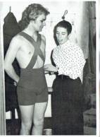Photo. Ballet. Opéra. Danse.  Dolores Laga Et  Danseur à Identifier. 1968. - Métiers