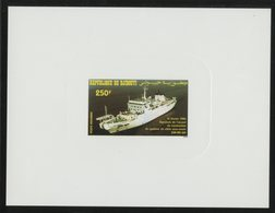 DJIBOUTI POSTE AERIENNE N° 3,  EPREUVE DE LUXE + BLOC FEUILLET NON DENTELE + ENVELOPPE 1er JOUR - Djibouti (1977-...)
