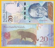 Venezuela 20 Bolivares P-104 2018 UNC Banknote - Venezuela