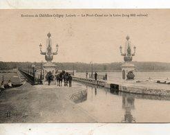 Environs  De Chatillon  Coligny -   Le  Pont  Canal  Sur  La  Loire. - Chatillon Coligny