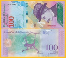 Venezuela 100 Bolivares P-106 2018 (22.03.2018) UNC Banknote - Venezuela