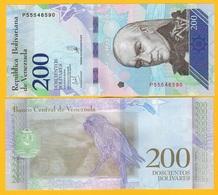 Venezuela 200 Bolivares P-107 2018 (13.03.2018) UNC Banknote - Venezuela