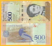 Venezuela 500 Bolivares P-108b 2018 UNC Banknote - Venezuela