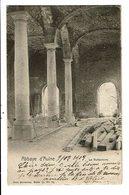 CPA-Carte Postale-Belgique- Thuin Ruine De L'abbaye D'Aulne-Le Réfectoire-1909 VM13337 - Thuin