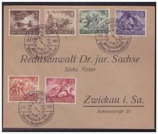 Dt- Reich (005003) Beleg Wehrmacht I, Mit SST Glasshütte Vom 16.6.1943 - Germania