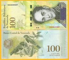 Venezuela 100000 / 100 Mil (100,000) Bolivares P-100b[3] 2017 UNC Banknote - Venezuela
