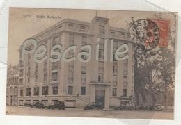 14 CALVADOS - CP ANIMEE CAEN - HOTEL MALHERBE - AUTOMOBILES - A. FROMENT PHOTO EDITEUR CAEN - CIRCULEE EN 1935 - Caen