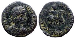 Theodose Ier - Ae3 - GLORIA ROMANORVM - Cyzicus (8792) - 8. El Bajo Imperio Romano (363 / 476)
