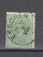 COB 137 Oblitération Centrale ESSCHEN - 1915-1920 Albert I