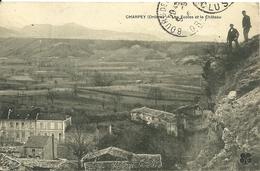 CHARPEY  (Drome)  - Les Ecoles Et Le Château - France