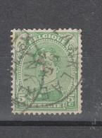 COB 137 Oblitération Centrale LANKLAER - 1915-1920 Albert I