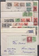 +F1122. Berlin 1950-52. 10 Used Covers. - [5] Berlin
