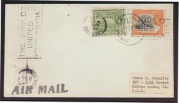 British Guiana Brief Mit Stempel The World United Aganist Malaria McKees Rocks - Guyana (1966-...)
