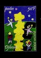 Djibouti - Dschibuti Vignette 2000 Y&T N°v(1) - Michel N°(?) *** - 50f EUROPA - Non Dentelé - Djibouti (1977-...)