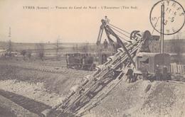 J52 - 80 - YTRES - Somme - Travaux Du Canal Du Nord - L'excavateur - Tête Sud - Frankreich