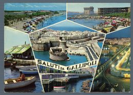 °°° Cartolina - Saluti Da Gallipoli Vedute Viaggiata °°° - Lecce
