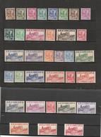 TUNISIE  Types De 1926-28  N° 273** à  298** - Unused Stamps