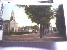 Nederland Holland Pays Bas Amsterveen Dorpsstraat En NH Kerk Oud - Amstelveen