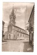 CPA 18 SAINT FLORENT SUR CHER L'Eglise Eglise Magasin Enseigne  Félix Potin Correspondant M Bouillet Peu Commune - Saint-Florent-sur-Cher