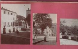 240220 - PHOTOS ANCIENNES - 26 ST MARTIN EN VERCORS Hôtel Du Vercors Mairie Village Café Et SAINT MARCELLIN Isère - Altri Comuni