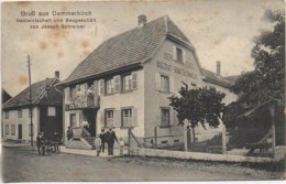 68 GruB Aus DAMMERKIRCH  Gastwirtschalt Und Baugeschait - Autres Communes