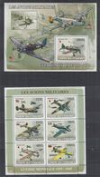 O964. Comores - MNH - 2008 - Transport - Aviation - Planes - Militarie - Ohne Zuordnung