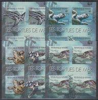 S745. Burundi - MNH - Nature - Marine Life - Turtles - Imperf - Pflanzen Und Botanik
