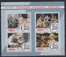 V963. Guinea - MNH - 2016 - Famous People - Mozart - Persönlichkeiten