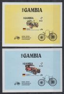 W745. Gambia - MNH - Transport - Cars - Antique - Imperf - Autos