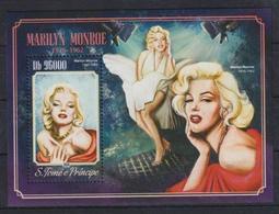 Y963. Sao Tome & Principe - MNH - 2014 - Famous People - Marilyn Monroe - Bl. - Persönlichkeiten