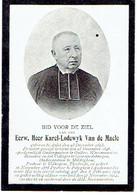 E.H. VAN DE MAELE Karel - AALST / OUTER / WAASMUNSTER / GERAARDSBERGEN / MALDEGEM / VOLKEGEM / TIELRODE / PETEGEM +1912 - Images Religieuses